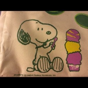 Canvas Snoopy Tote